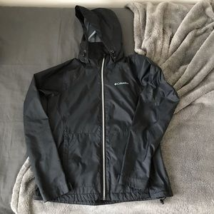 Columbia Black Windbreaker